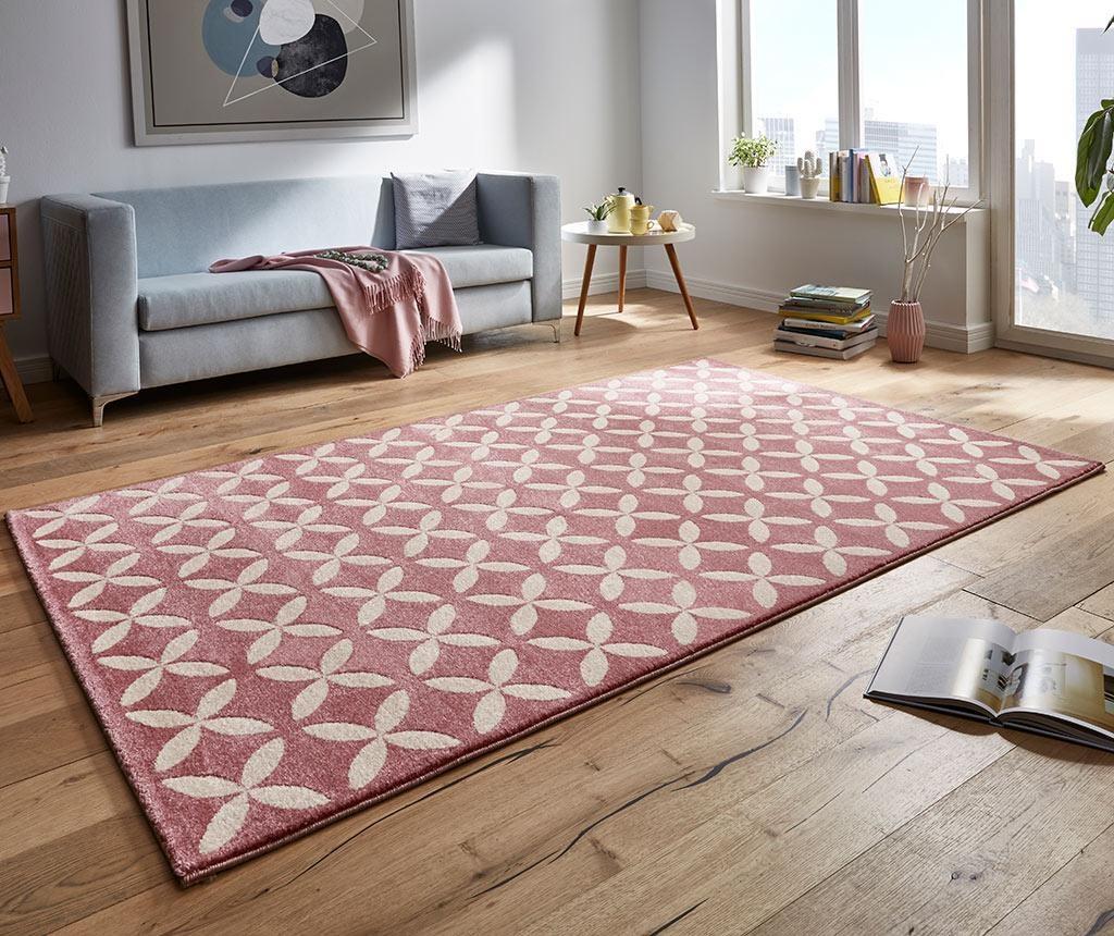 Covor Flora Pink 160x230 cm