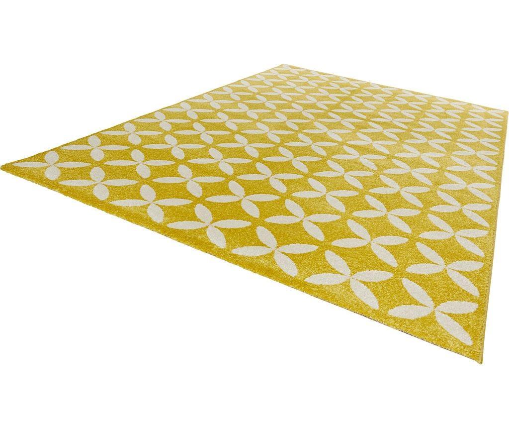 Preproga Flora Yellow 160x230 cm