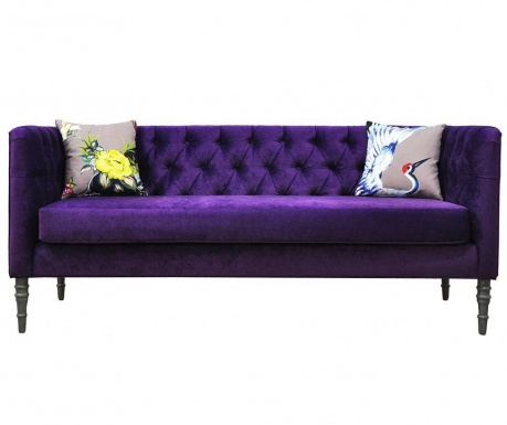Loveseat Purple Love Three Szófa