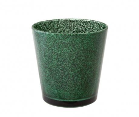 Svečnik Glitter Green