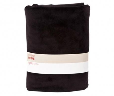 Black Simply Pléd 150x200 cm