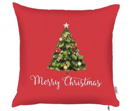 Prevleka za blazino Merry Christmas Tree 43x43 cm