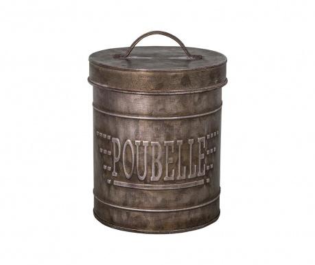 Poubelle Szemetes kosár fedővel