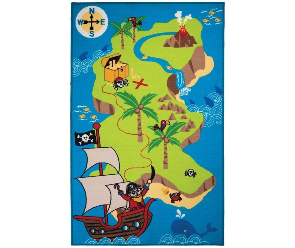 Preproga Pirate Map 100x160cm