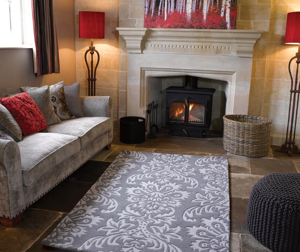 Tepih Ornate Grey 120x170cm