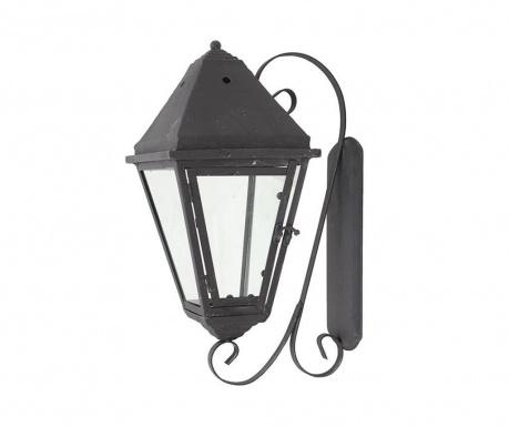 Стенен фенер Lantern Black