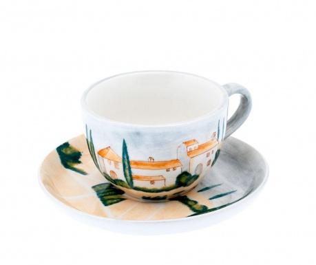 Siena Csésze és kistányér