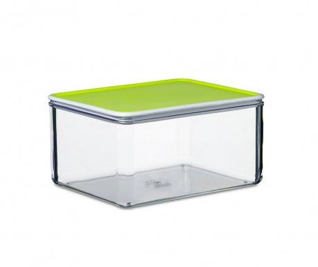 Κουτί αποθήκευσης τροφίμων  με καπάκι Loretta Lime 2 L
