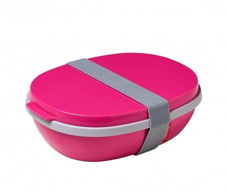 Škatla za hrano Ellipse Duo Pink 1.425 L