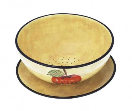 Sada mísa na ovoce a talíř Toscana Water