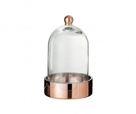 Stakleno zvonce s držačem Bell Copper