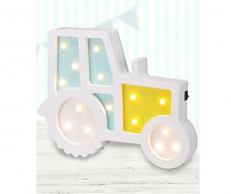 Świetlna dekoracja ścienna Tractor