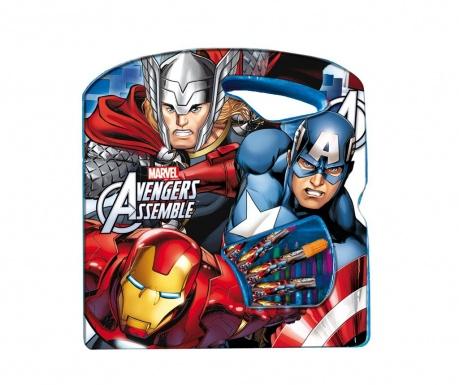 The Avengers 40 darabos Színező szett