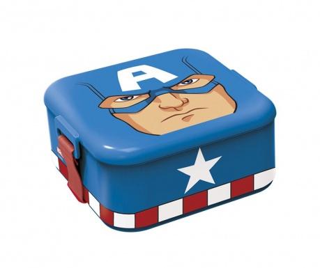 Captain America Uzsonnás doboz