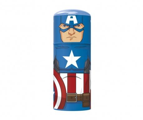 Captain America Palack kupakkal 350 ml