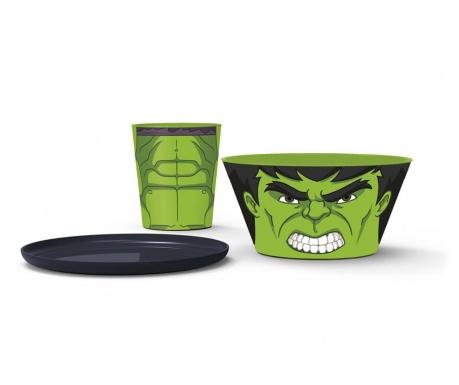 Hulk 3 darabos Étkészlet