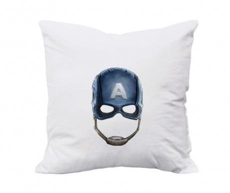 Captain America Párnahuzat 80x80 cm