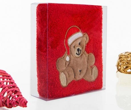 Bear Christmas Fürdőszobai törölköző 30x50 cm