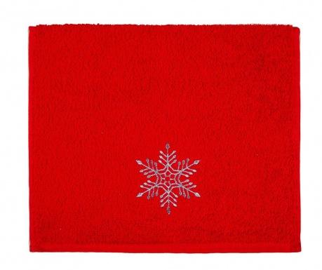 Ręcznik kąpielowy Snowflake Shine 30x50 cm