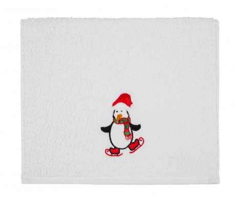 Kupaonski ručnik Penguin Christmas 30x50 cm