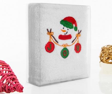 Snowman Joy Fürdőszobai törölköző 30x50 cm