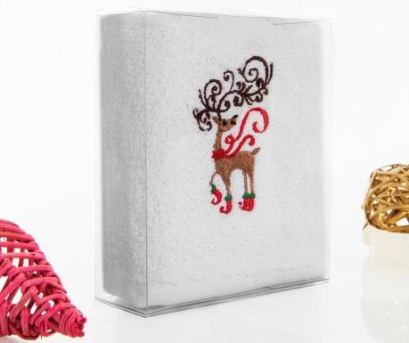 Christmas Reindeer Fürdőszobai törölköző 30x50 cm