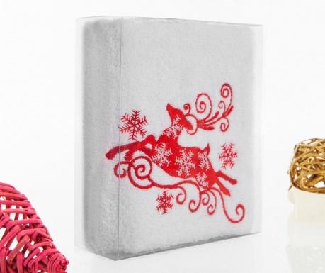 Reindeer Snowflakes Fürdőszobai törölköző 30x50 cm