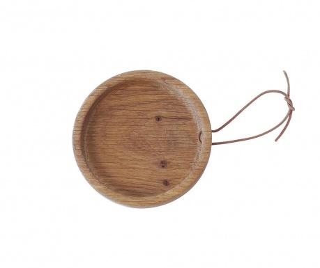 Servírovací podnos Flip Round Oak S