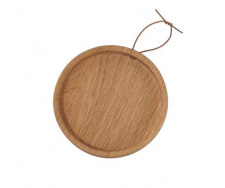 Servírovací podnos Flip Round Oak M