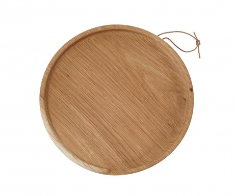 Servirni pladenj Flip Round Oak L