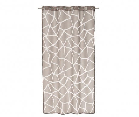 Záclona Korinth Gray 140x260 cm