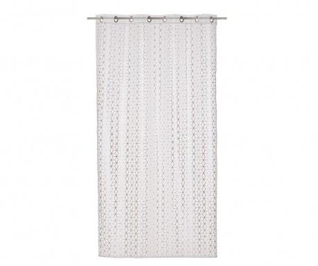 Perdea Axis White Silver 140x260 cm