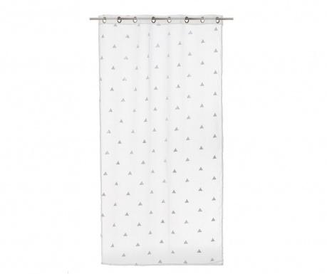 Záclona Mark White 140x260 cm