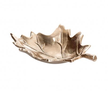 Dekorativni krožnik Leaf