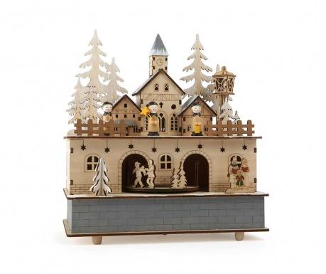 Adventna glasbena dekoracija Little Village