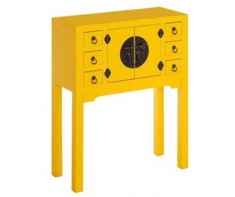 Konzolna miza Verena Yellow
