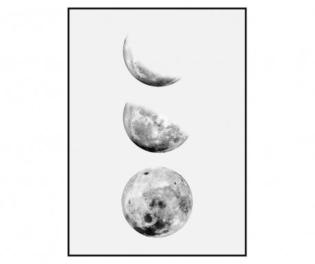Tablou Moon Phases 100x140 cm