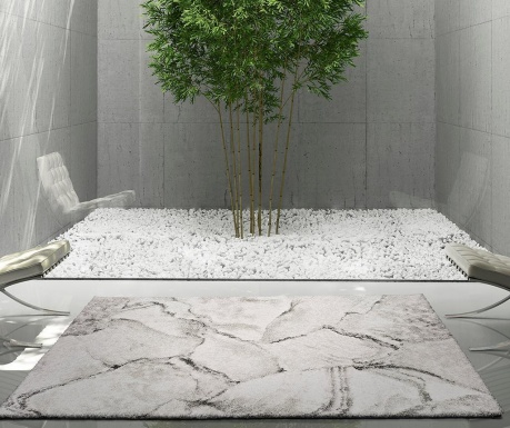 Tepih Sherpa Grey 60x120 cm