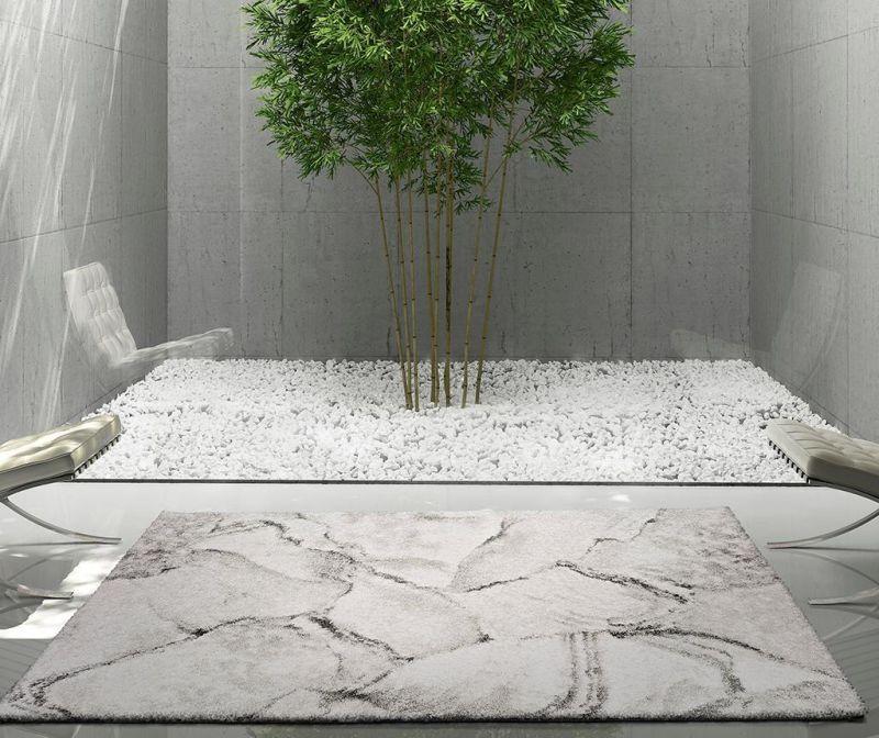 Covor Sherpa Grey 60x120 cm