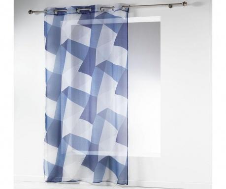Perdea Blue Squares 140x240 cm