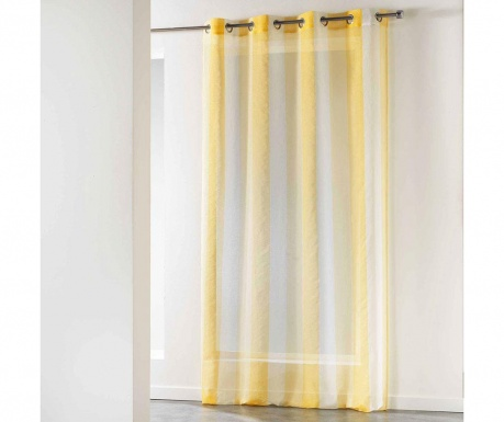 Záclona Isla Yellow 140x240 cm