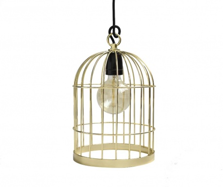 Bird Cage Gold Black Csillár