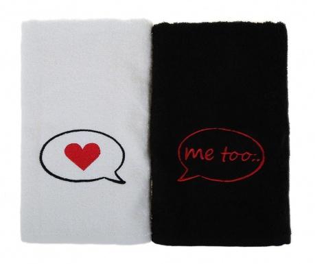 Set 2 kopalniških brisač Me Too 50x90 cm