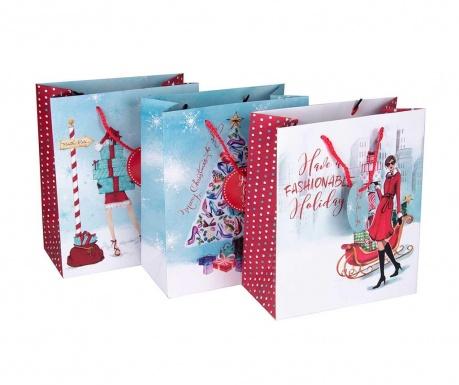 Set 3 darilnih vrečk Turpom