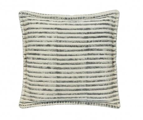 Poduszka dekoracyjna Lines Beige White 50x50 cm