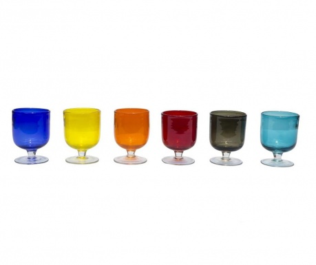 Set 6 čaša s nogom Stromboli