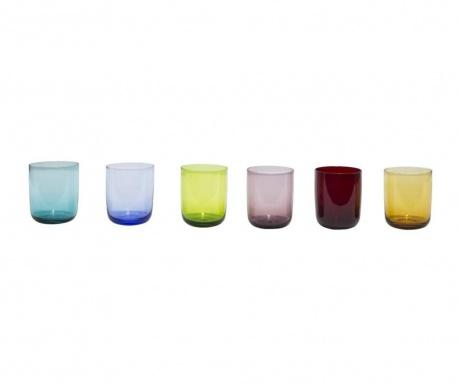 Zestaw 6 szklanek do wody Alicudi
