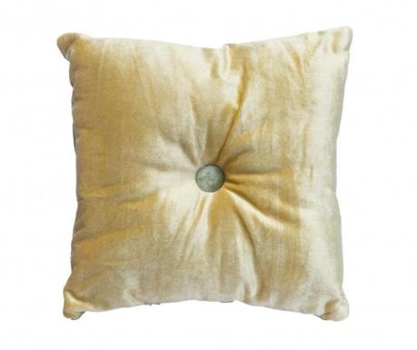 Poduszka dekoracyjna Mignon Velvet Square Gold Beige 30x30 cm