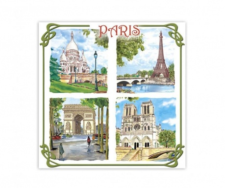 Odświeżacz powietrza do szafy Paris Monuments