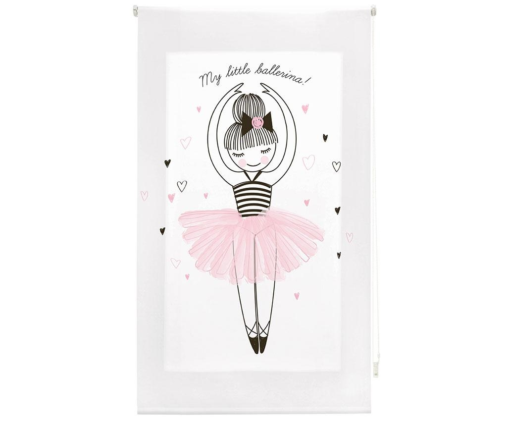 Jaluzea tip rulou My Little Ballerina 100x180 cm